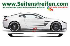 2x Sport Strisce Laterali Auto adesivi decoro strisce strisce 180cm x 30cm