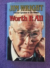 Worth It All : My War for Peace autographed by Jim Wright (1993, Hardcover)