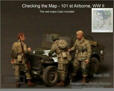 1/35 Scale resin kit  Checking the Map 101st Airborne, WWII Figures map