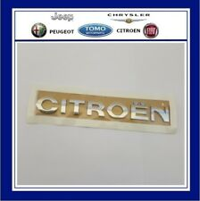 GENUINE CITROEN BADGE FOR TAILGATE PART NO. 866607