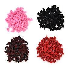 Plastic Bear Nose Triangle Velvet Noses Buttons DIY Toy;K