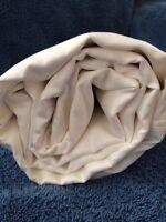 Luxury King Fitted Sheet Crisp White Cotton Sleep & Beyond 300TC Eco Friendly