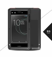 LOVE MEI Metal Water/Shockproof Gorill Glass Case Cover Sony Xperia XZ Premium