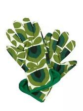 Orla Kiely Striped Tulip / Pine Gardening Potting Gloves
