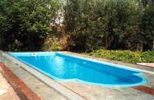 More details for polyester fibreglass swimming pool 6,0 x 3,0 x 1,4m one piece
