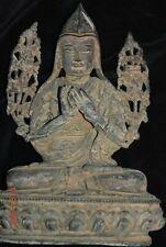 "Sale! Nepal/Tibet Shaman Bronze Buddha 8"" Prov"