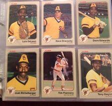 1983 FLEER COMPLETE your set pick 50 STARS R/Cs   NM-MT