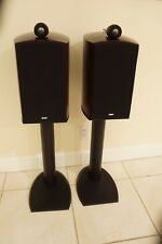 B&W  BOWERS AND WILKINS NAUTILUS 805 LOUDSPEAKERS ( PAIR ) W/ STANDS