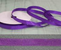 Grosgrain  10mm  Purple  Ribbon - 20 metres