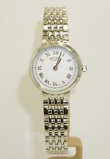 Rotary LB05060/01 Ladies Stainless Steel White Dial Watch 2 Yr Warranty W/R 50m