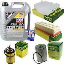 Inspection Kit Filter LIQUI MOLY Oil Oil 5L 5W-40 For VW Golf VI 5K1 2.0