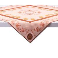 1 Tischdecke Rabea in Orange aus Linclass® Airlaid 80 x 80 cm - Einweg Ostern