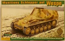 ACE 1/72 WWII German Minitions Schlepper (carrier) auf Wespe Model Kit