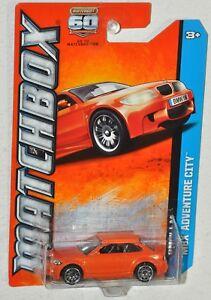 Matchbox 60th 2013 #111 MBX Adventure City BMW 1M orange MOC VHTF