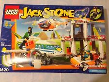 Lego Jack Stone 4620  A.I.R. Operations H.Q.   NIB Sealed packages!