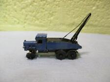 Mobile Crane (Thornycroft Style) Assembled Die Cast Metal Kit Langley? 'N' Gauge