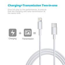 Câble Chargeur USB-C Type C 3.1 Mâle Vers Lightning 8 pin iPhone Macbook iPad 1M