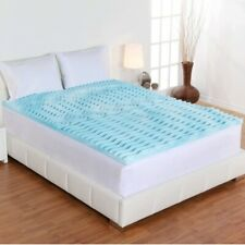 Orthopedic Bed Pad 2 Inch Memory Foam Mattress Topper Comfort Hypoallergenic All