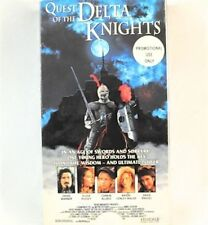 Quest of the Delta Knights VHS Movie Promo Screener Copy