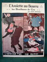 L'Assiette au Beurre #98 The Distillers - Alcohol Abuse 1903 French Satire Art