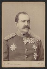 1287b❚ Kabinettfoto, König von Serbien Milan I.