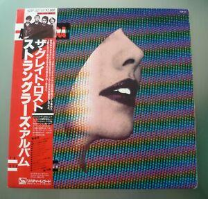 The Stranglers The Great lost Stranglers Album Japanese lp w/insert & OBI
