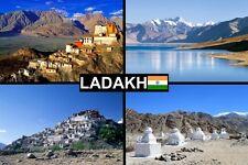 SOUVENIR FRIDGE MAGNET of LADAKH INDIA