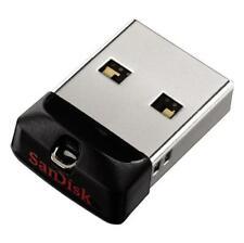 SanDisk 8GB 16GB 32GB 64GB Cruzer FIT CZ33 USB Flash Pen Drive Memory Stick CA