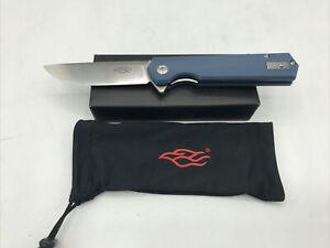 GANZO KNIVES FH11S-GY FIREBIRD LINERLOCK FOLDING PICKET KNIFE