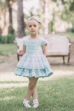 Vestido de niña Dolce Petit color verde-  Dolce Petit -  Colección DOLCE PETIT