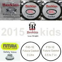 Hawkins Prestige Futura Pressure Cooker Safety Valve Sealing Gasket Vent Whistle