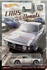 Hot Wheels Alfa Romeo Giulia Sprint GTA Cars & Donuts 2017 Die-cast