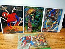 Marvel Spider-Man Fleer Ultra Gold Foil Lot of 4 1995 Vulture,Puma Web of Death