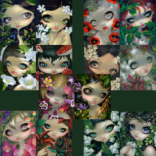 Jasmine Becket-Griffith SIGNED fairy Poisonous Beauties set of 14 art prints