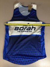 Mt Borah Teamwear Mens Size Medium M Running Singlet Run Shirt (6910-62)