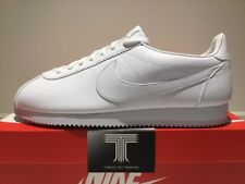"Nike Classic Cortez Leather ""Triple White"" ~ 749571 111 ~ Uk Size 12"
