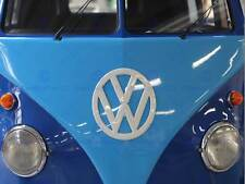 PHOTO VINTAGE TRANSPORT VW COMBI BLUE TONE VAN ART PRINT POSTER MP4003B