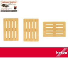 Herpa 052900 Euro Pallet (Pack of 50) 1:87 Scale