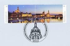 BRD 2014: Elbpanorama Dresden Nr. 3068 + 3069 mit Bonner Ersttagsstempel! 1901