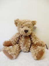 RUSS THE PLATINUM COLLECTION  CHARLES- 96766 SOFT TOY BROWN TEDDY BEAR 41CM BNWT