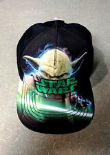 Star Wars Youth Snapback Baseball Cap Hat Yoda With Lightsaber New 88a66900555d