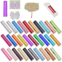 1 Roll Hot Stamping Foil Paper Holographic Heat Transfer DIY Crafts Pick Color