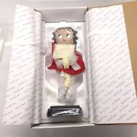 """Danbury Mint 1995 Betty Boop Porcelain Collector Doll 16"""" Red Dress New In Box"""