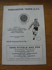 27/08/1977 Dorchester Town v Folkestone & Shipway  (Light Marks)