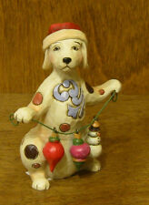 Jim Shore Heartwood Creek #4027771 Mini CHRISTMAS DOG, From Retail Store, 3.25""