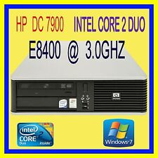 HP DC7900 INTEL CORE 2 DUO E8400 3.0GHZ 4GB 160GB DVDRW WINDOWS 7 PRO WIRELESS N