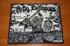 "SECOND HELL / SKULL CRUSHER ""Metal Deadness"" Digi-CD 1986/2006 rare NL Thrash"