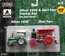 1/64 ERTL OLIVER 1655 & HART PARR TRACTOR SET