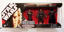 NEW STAR WARS Evolutions ANAKIN to DARTH VADER 3 Pack Action Figurines Figures