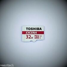 Toshiba Exceria 32GB microSD SDHC UHS-1 48MB/S class 10 Speicherkarte NEU & OVP